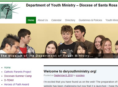 Santa Rosa Diocese Youth Ministry